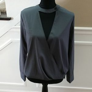 ChicMe gray top, large
